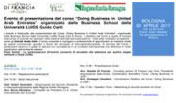 Presentazione del Corso LUISS Doing Business
